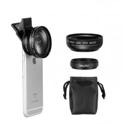 Kit de lentes 2 en 1 para celular